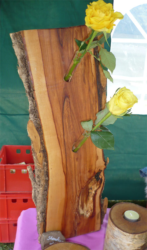 Vasen - nature WOOD ART